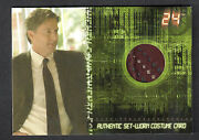 Twenty Four Season 5 Artbox/2008 Costume Card C8 John Allen Nelson 80/90