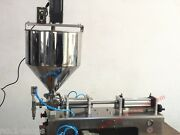Mixing Hopper100-1200ml Paste Chilly Sauce Piston Filling Machine With Mixer