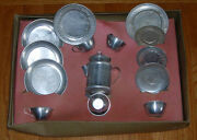Vintage Kitchen Sets Dishes And Cookware Mid-century Aluminum Lot Of 2