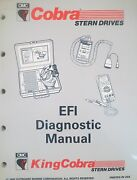 1993 Omc Cobra Fuel Injection Efi Diagnostic Systems Factory Service Manual Oem