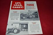Ford Tractor Lift Load Carry Dealerand039s Brochure Lcpa