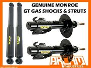 Front And Rear Monroe Gt Gas Shock Absorbers For Volvo 850 Series Wagon 1994-2/97