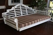 75 Outdoor Single Bed Mattress Swingbed 4 Inches Thick Sundown Material