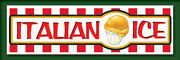2ft X 6ft Italian Ice Grn Vinyl Banner 2and039x6and039 -alt To Banner Flag 182