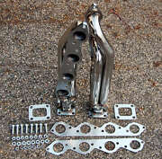 Big Block For Chevy Bbc T4 Twin Turbo Stainless Headers 427 454 396 502 572
