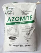 2 - 44lb Bags Azomite 88lbs - Organic Trace Mineral Powder Volcanic Rock Dust