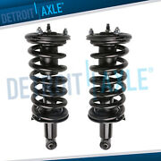 Nissan Titan Armada Qx56 Pair Struts Coil Assembly For Front Driver And Passenger