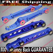 Blue Front And Rear Lower Control Arms 92-95 Civic/94-01 Integra/93-97 Del Sol