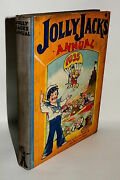 Vintage Book, Jolly Jack's Annual 1935, Boys And Girls Stories/comic/games