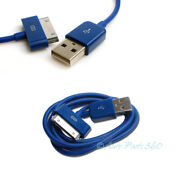100x 6ft Usb 30 Pin Blue Cable Data Sync Charger Samsung Galaxy Tab Tablet 10.1