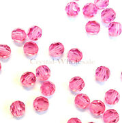 Rose 209 Elements 5000 Crystal Round Beads 4mm 6mm 8mm