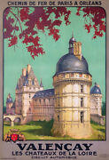 Valenandccedilay Castles Of Loire France Tourism Tours For Cars North Railway Alo 1926