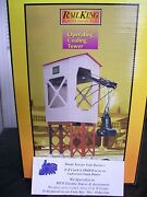 Mth O Gauge Stamped Metal Operating Coaling Tower 30-9158 Factory Brand New