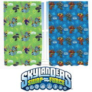 Skylanders Swap Force 66 X 54 Curtains Matches Duvet Giants New Gift Trap Team