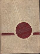 Anderson High School Indiana 1938 Indian Yearbook Annual Hs Year Book