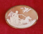 Apollo Led Out By The Morning Star - Carnelian Shell Cameo - Acropolis Mark