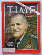 Time Magazine April 1968 General Creighton Abrams-martin Luther King Funeral