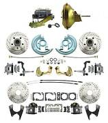 1966-72 Gto High Performance Power Front And Rear Disc Brake Conversion Kits