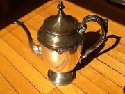 Mid-century National Silver Co. 1951 King Edward Silverplate Coffee Pot