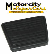 1964-77 Chevelle Gto Judge Gs 442 W-30 3 And 4 Speed Brake Pedal Pad Mt 1pc