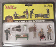 O Scale Park Bums Woodland Scenics People 2749