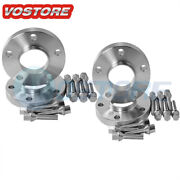 4 15mm Hubcentric Wheel Spacers Adapters 5x120 For Bmw E36 E46 E60 E61 + Bolts