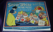 Walt Disney's Snow White And The Seven Dwarfs Two Puzzles Boxed 1938