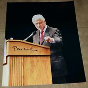 President Bill Clinton Signed Autographed 8x10 Photo