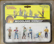 O Scale Track Workers Woodland Scenics Train People 2723