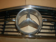 71-89 Mercedes Benz 107 350 280 380 450 560 Sl Slc Front Hood Grill Chrome Star