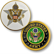 Us Army General Staff Challenge Coin United States Chief Of Staff Star Insignia