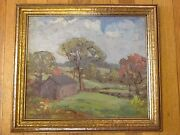 Arthur Van Zile Bodwell Ct. Listed Artist- 11.5 X 14 Stamford Area 1940