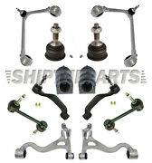 Lincoln Ls Front Lower Control Arms Ball Joints Bushings Tie Rods L + R Set 12