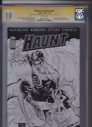 Haunt Preview Nn - Cgc 10 Gem Mint Not 9.8 Signed By Kirman And Ottley On Back