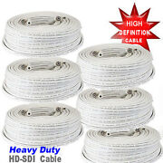 A6 100ft Rg59 High Definition Coaxial Cable For Hd-sdi Camera Hd Security Camera