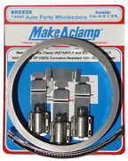 Breeze Make A Hose Clamp Kit 8.5 Foot All 304 Stainless Steel Made In The Usa