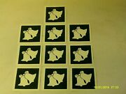 10 - 400 Christmas Bells Stencils For Etching On Glass Hobby Present Glassware