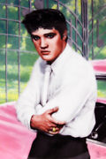 Elvis Presley Looking At A Legend At Gates Of Graceland Collectorand039s Plate Delphi