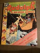 Dc Comics 1976 Issue C-50 Sheldon Mayer Poster Rudolph The Red Nosed Reindeer