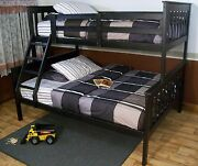 Mission Style Twin Or Full Bunk Beds 9 Paint Options Amish Made In Usa