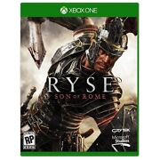 Xbox One Ryse Son Of Rome Brand New Factory Sealed Also Ship To Canada