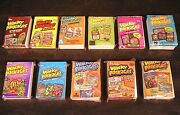 2004-13 Topps Wacky Packages Series 1,2,3,4,5,6,7,8,9,10,11 All 11 Complete Sets