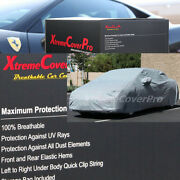 2015 Dodge Avenger Breathable Car Cover W/mirror Pockets - Gray
