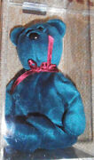 Rare Authenticated Ty New Face Jade Teddy Beanie Baby - 1st Gentush