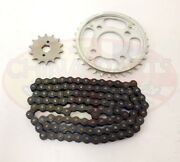 Heavy Duty Chain And Sprockets Set For Lifan Lf250-4 Motorcycle