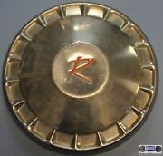And03957-and03962 Rambler 10 Used Dog Dish Poverty Chrome18 Spokes Red R Logo Dd-008