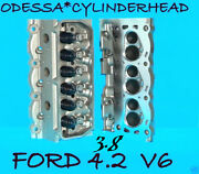 2 Ford Mercury Mustang Cougar Truck 3.8 4.2 Ohv Cylinder Heads Castyf2e 97-04