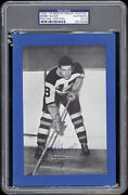1934-44 Beehive Bobby Bauer Boston Bruins Autographed/signed Rare -- Psa/dna