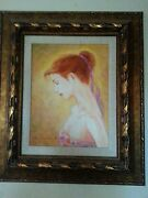 Charles Lee In The Sun A Unique Work Hand Signed Original Painting On Canvas