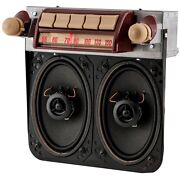 1947-53 Gmc Truck Am/fm/stereo Bluetooth® Radio With Speakers
